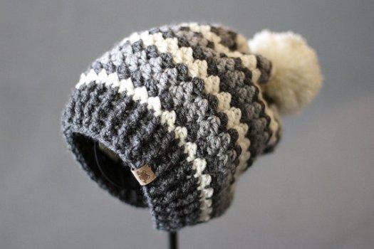 9fa7c4e54cf Sweet crocheted slouchy hat pattern