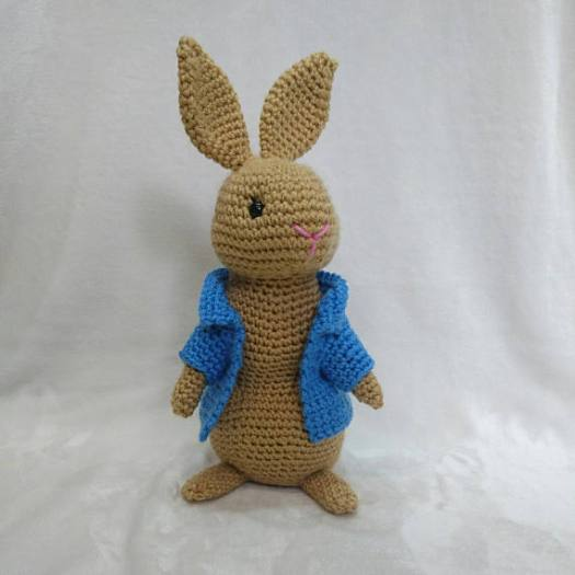 Peter Rabbit Amigurumi Crochet Pattern