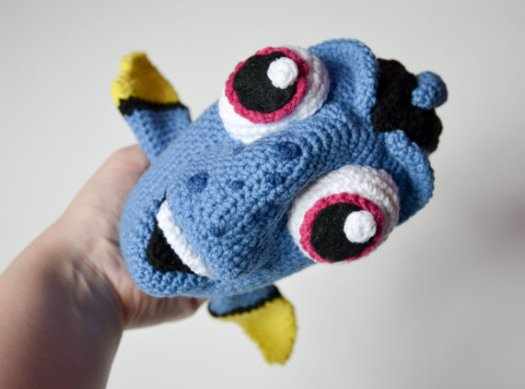 Finding Nemo Dory Crochet Toy Pattern