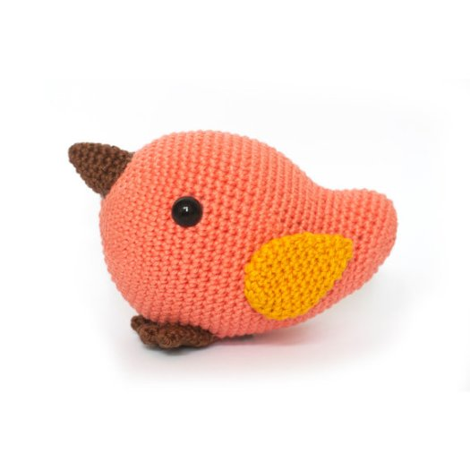 Little Bird Amigurumi Pattern - one of today's amigurumi finds from craftevangelist