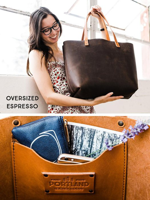 Gorgeous natural character leather tote bag. Different sizes and colors available... isn't this beautiful, now which color to choose!?!?