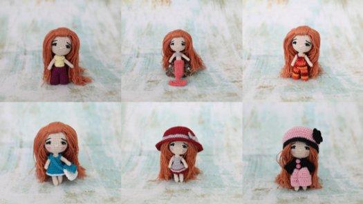 Amigurumi crochet doll pattern: Milena Doll | 296x525