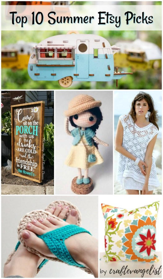 Check out my top 10 summer Etsy picks! There's plenty of summery goodness to be had!