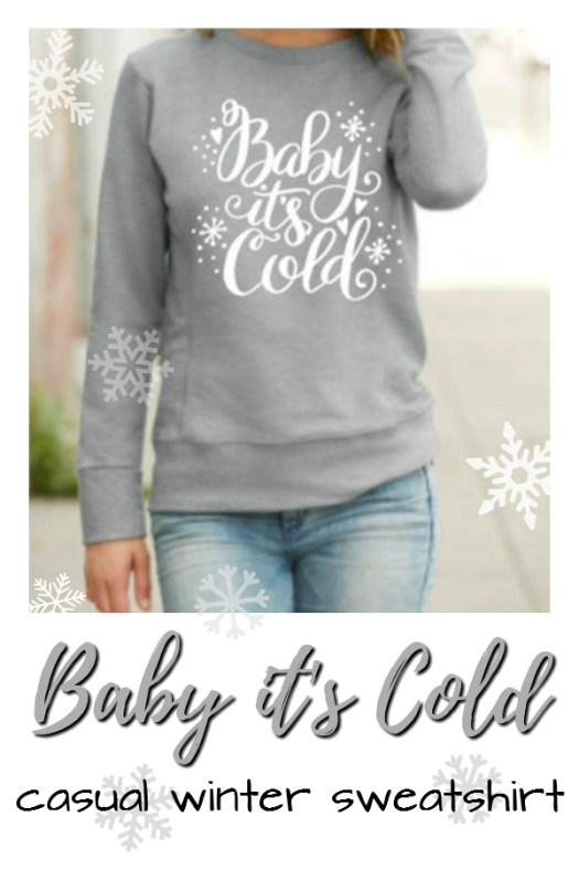 Cute casual holiday sweater, perfect for lounging during the winter break! Love this cozy looking sweatshirt! Perfect sister gift idea! #madetoorder #custom #sweatshirt #style #fashion #women #craftevangelist