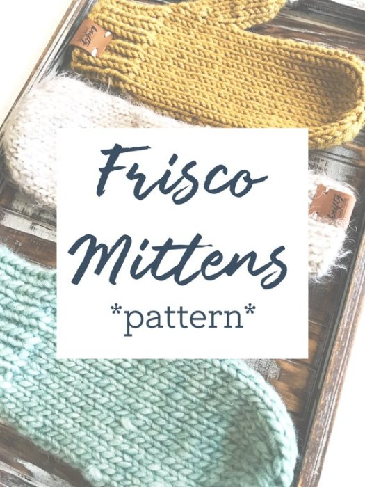 Super simple, classic knit mittens pattern. Frisco mittens. Love the classic simplicity of this pattern! Perfect for showing off a lovely yarn! #mittens #knitting #pattern #yarn #crafts #craftevangelist