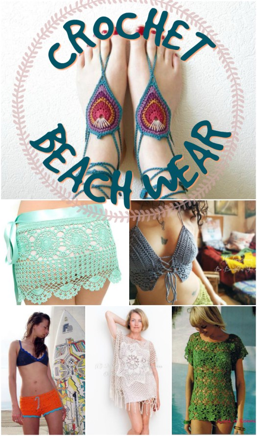 Great crochet pattern round up of great beach wear patterns by craftevangelist!