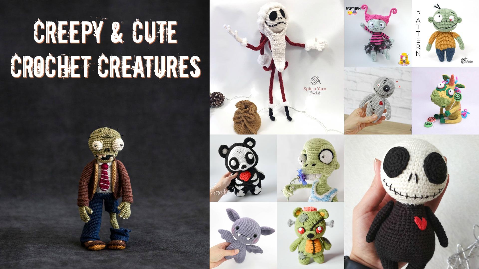 Cute Creepy Crocheted Creatures