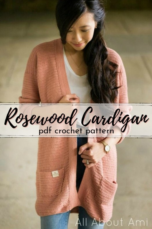 I love this crochet cardigan pattern from All About Ami! The drape on this oversized slouchy sweater is so gorgeous! #cardiganpatterns #cardigan # crochetcardigan #crochetpattern #craftevangelist
