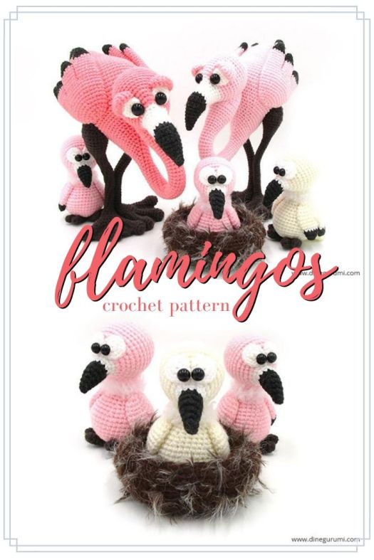 Wow! What an incredible looking amigurumi flamingo crochet pattern! What an awesome gift this would make for a flamingo-loving friend! I love these so much! #crochetpattern #amigurumipattern #crochetflamingo #flamingoamigurumi #crochetamigurumi #amigurumi #crochet #pattern #craftevangelist