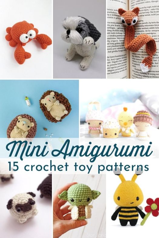 Marvelous Mini Crochet Animals to Make Yourself | 787x525