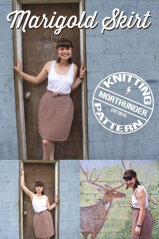 Cute, simple and customizable according to your measurements, this gorgeous Marigold Skirt knitting pattern is the perfect summer knitting project! #summerknits #knittingpattern #knitskirtpattern #craftevangelist