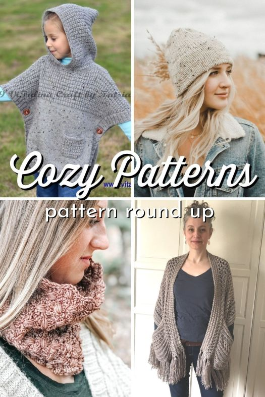 14 Gorgeous warm and cozy knit and crochet accessory patterns to make as gifts or to keep yourself toasty warm this winter! #crochetpatterns #knittingpatterns #patterns #knitting #crochet #patternroundup #craftevangelist