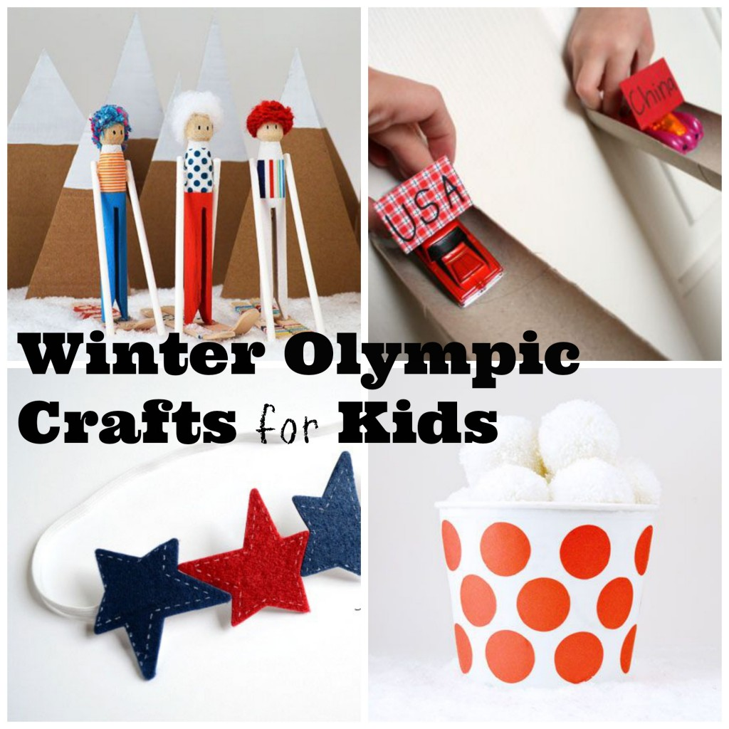 Craft Olympics Kid Crafts