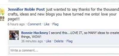 CraftGossip Facebook Love