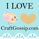 I love CraftGossip.com Twitter Style