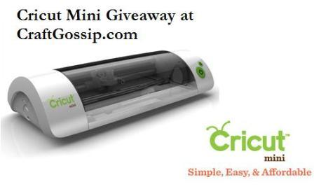 Cricut Mini Giveaway