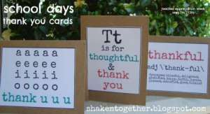 school days thank you cards main BLOG