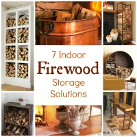 7 Indoor Firewood Storage Solutions