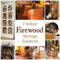 7 Indoor Firewood Storage Solutions