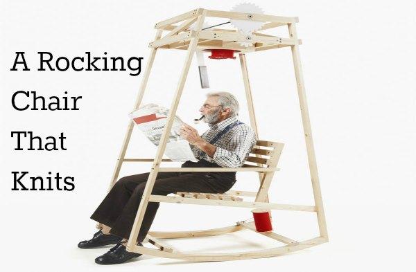 Rocking Chair that Knits Hats – Craft Gossip