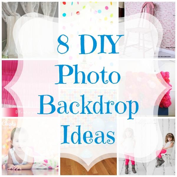 8 DIY Photo Backdrop Ideas Craft Gossip