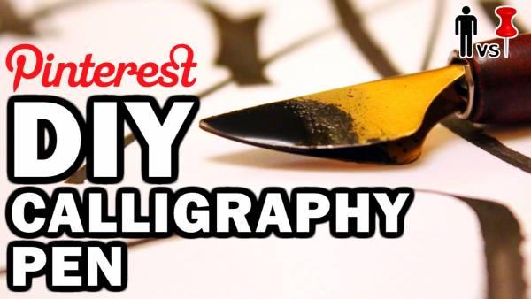 Diy Calligraphy Pen Craft Gossip