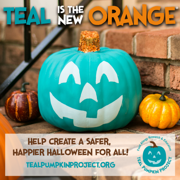 Teal Pumpkin On A Doorstep this Halloween. What does it mean?  sc 1 st  Craft Gossip & Teal Pumpkin On A Doorstep this Halloween. What does it mean ...