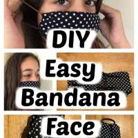 How to make a mask with a bandana