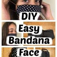 How to make a mask with a bandana