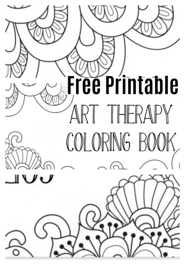 - Free: Printable Art Therapy Meditation Coloring Book – Craft Gossip