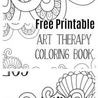 Free: Printable Art Therapy Meditation Coloring Book