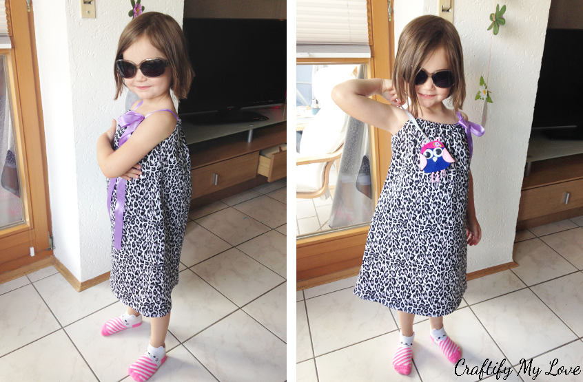 Sewing tutorial: Easy pillowcase dress for little girls