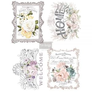 "Redesign Décor Transfers® - Floral Home 11""x 15"" each design Redesign Décor Transfers® – Floral Home 11″x 15″ each design 655350635527 600x600 1"