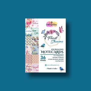 floret showers - 3 x 4 paper pad Floret Showers – 3 x 4 Paper Pad 3x4 Floret Showers craft impression craft impression 3x4 Floret Showers