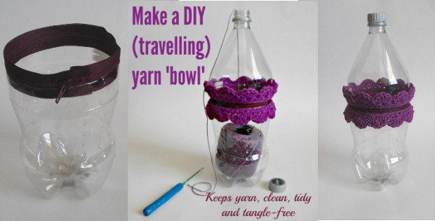 DIY Yarn Bowl - Make Your Own Travel Yarn Bowl