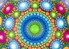Blew my mind! Video on how to paint these gorgeous dot paint rock mandalas.