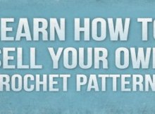 How you can sell your own crochet patterns you've written. Great service!