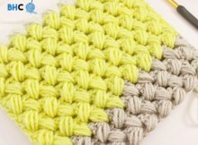 Video tutorial for how to make the zig zag puff stitch - crochet stitch video tutorial