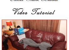 Crochet Shark Blanket Tutorial