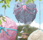DIY Doily Hot Air Balloons Craft