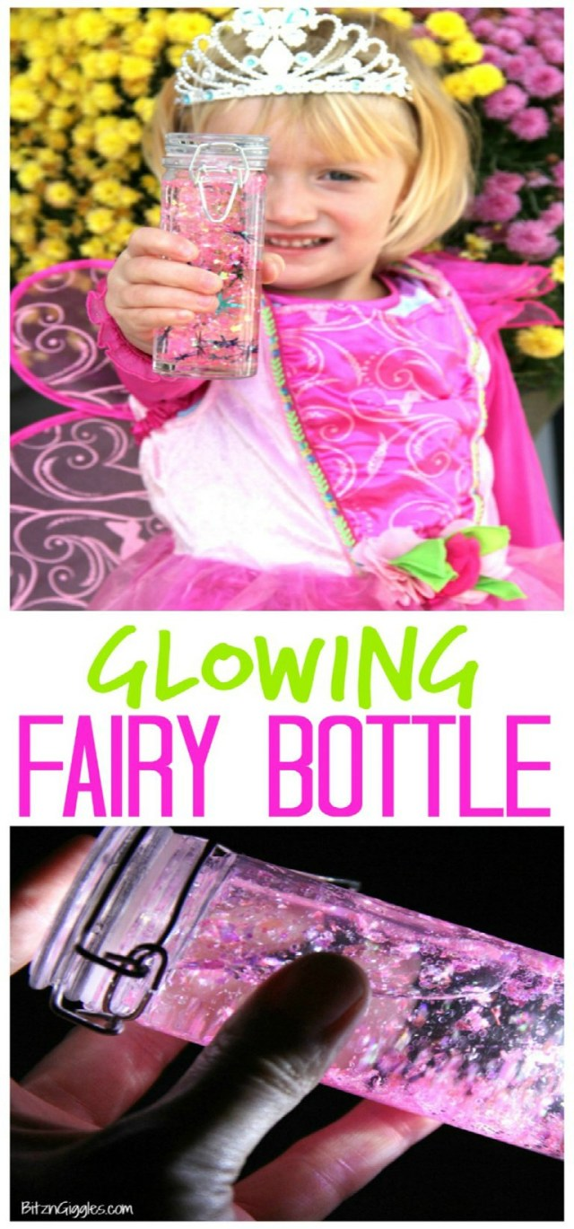 Glowing Fairy Jars - A Craft To Spark Creativity And Magic