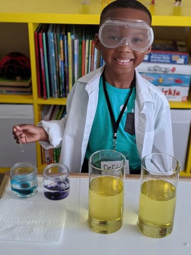 lava lamp science experiment