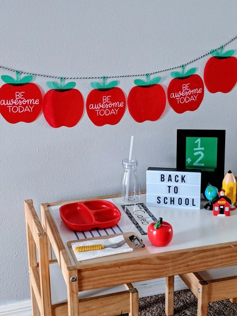 celebrate first day of school with special breakfast for the kids