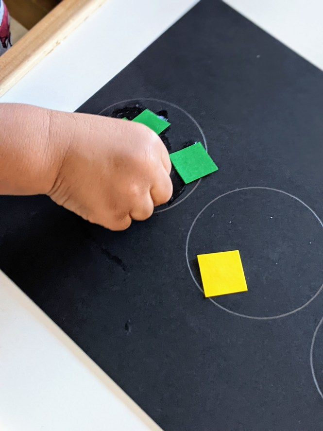 Black History Month crafts including this traffic light