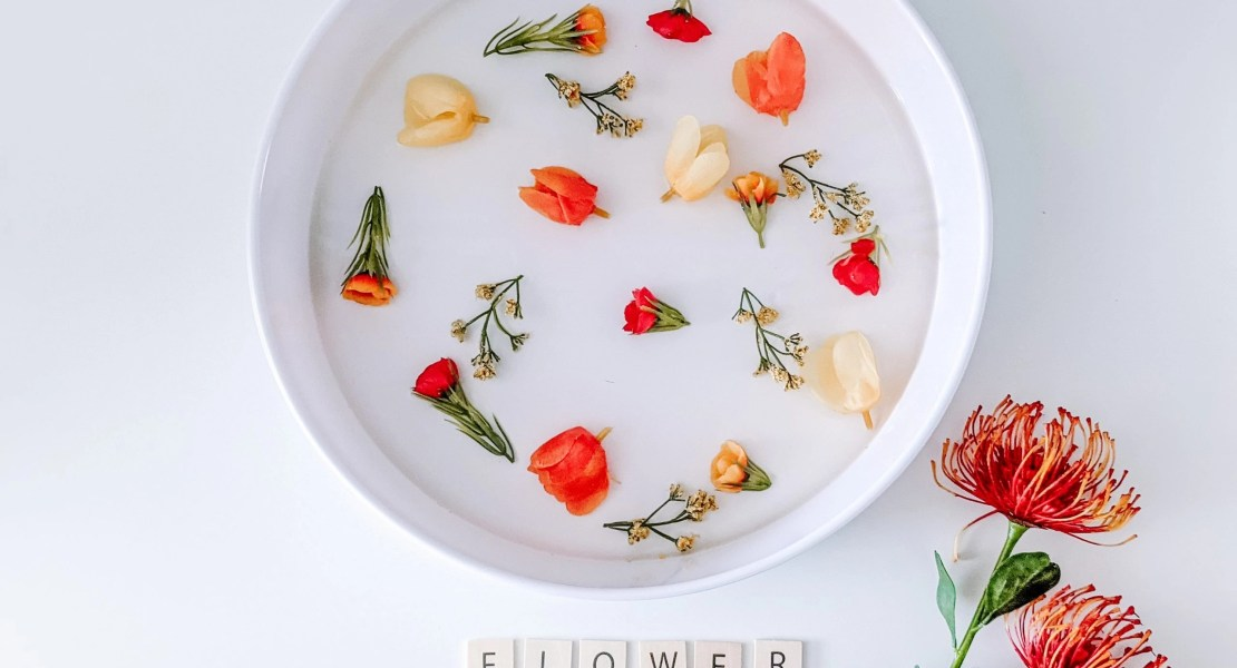 flower soup sensory activity