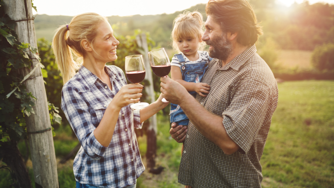 celebrate Mother's Day on a wine tour