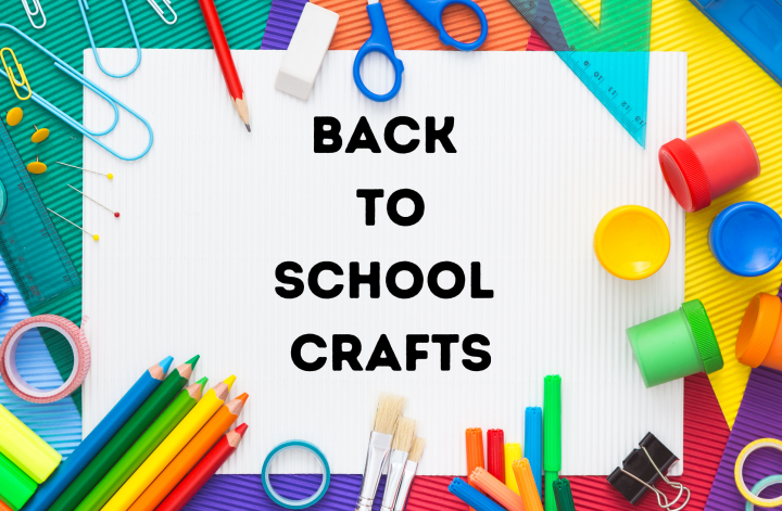 back to school crafts feature image