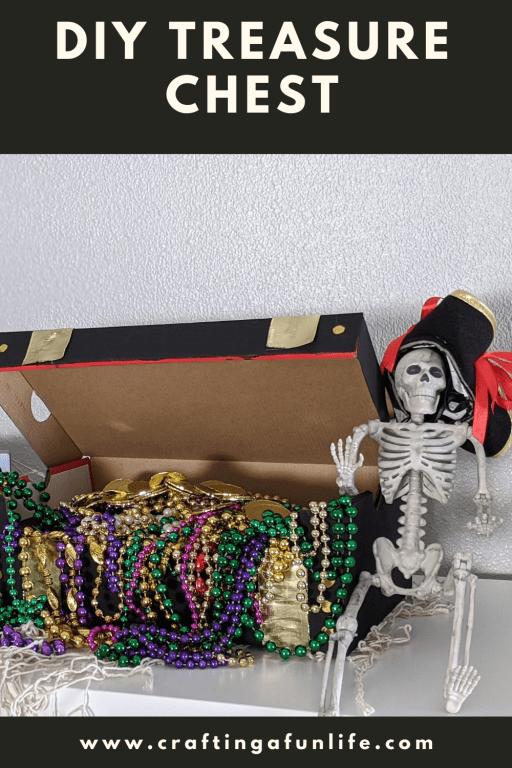 DIY pirate's treasure chest