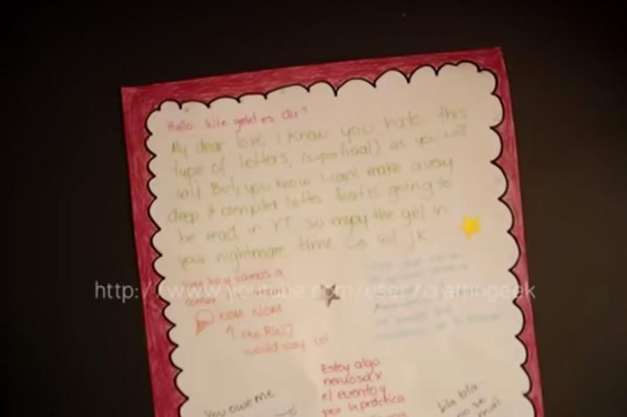 2) Decora tu carta como prefieras