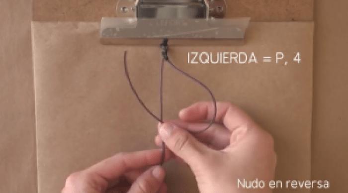 nudos para pulseras de hilo